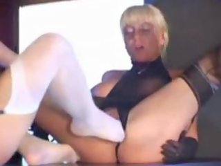 hawt blond mother i in stockings copulates and