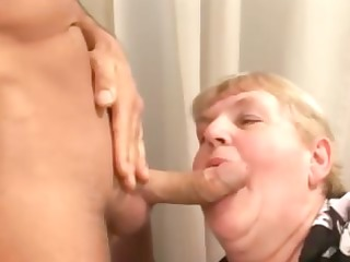 sex a chubby old hirsute granny