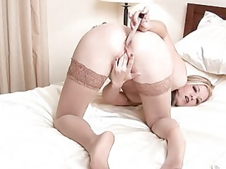 unshaved d like to fuck anal toy insertion
