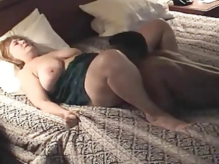 plumper older housewife acquires drilled &;