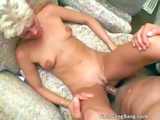 hawt blond d like to fuck receives her final