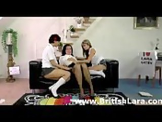 aged lesbo in nylons has some with younger honeys