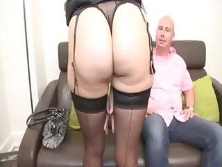 soisic a french older drilled in a three-some