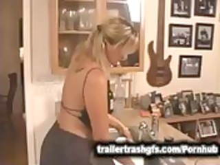 hawt mother i in kitchen
