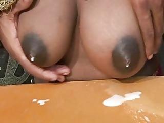 preggy indian mama shooting new milk