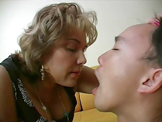 french aged mistress and her bondman