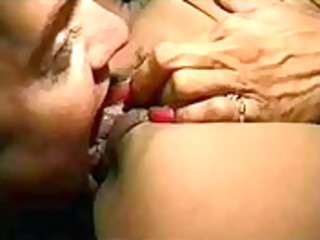 licking huge love button of my bitch wife. home