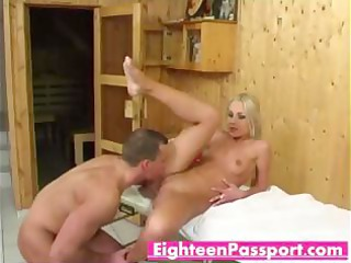 blond d like to fuck ella bending over