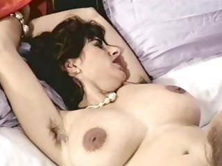 busty brunette older with shaggy pussy trades