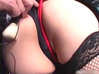 japanese momoko looking hawt in nylons