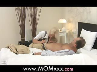 mommy blond breasty d like to fuck has multiple
