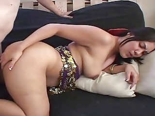 indian wife bows over and receives hard doggy