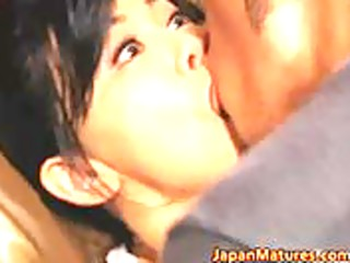 lustful japanese aged babes engulfing