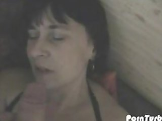 german wife takes a load