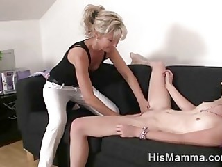 girlfriend receives tempted by mature lesbo who