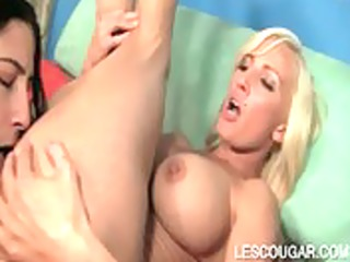 lesbian mother i bawdy cleft fingered by legal