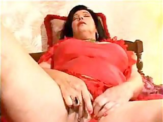 perverted granny orgasms at home