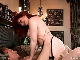 breasty redhead d like to fuck in nylons acquires