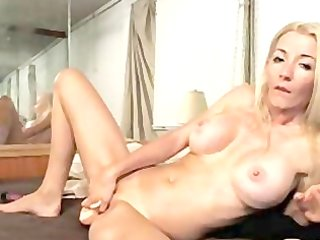 blond older with toys