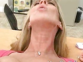 naughty blonde mother i receives what she wants a