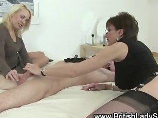 older nylons femdom harlots take turns