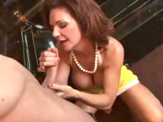 large titted mom punishes her wicked daughter and