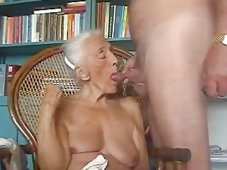old grandma loves to engulf juvenile dick