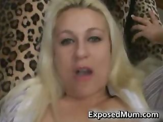 blond mommy wishes to bone hard part1