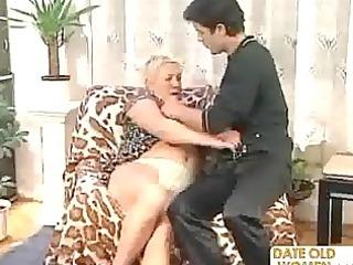 granny bonks a younger chap