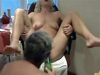 mature bound down and pleasured from inserted