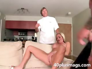 blonde mother i sue fucking with coarse guy