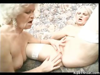 two blond older hoes feel very naughty