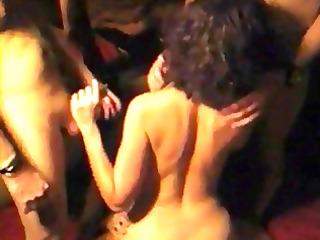 Wife Gangbang in Swing Club (wish mine would)