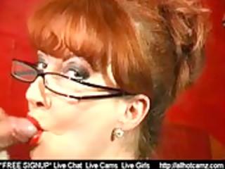 redhead mature show her fellatio skills