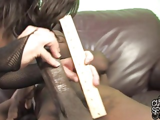 abased white cuckold and bitch wife