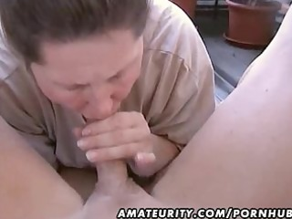 obese amateur wife homemade oral-stimulation and