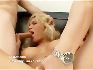 golden-haired d like to fuck acquires a double