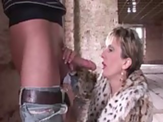 older fetish nylons wench receives screwed