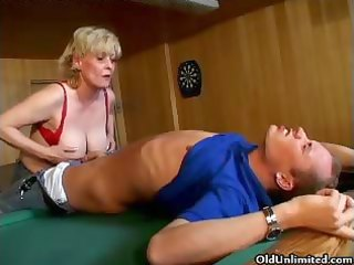 naughty sexually excited old mama with large part3
