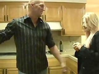 busty blonde mama receive screwed