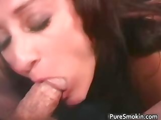 sexy hawt naughty mother i brunette chick gives