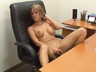 breasty golden-haired d like to fuck secretary