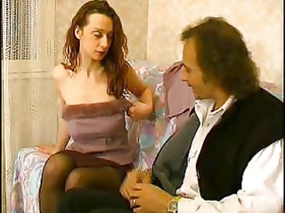older hirsute wife receives drilled by old chap