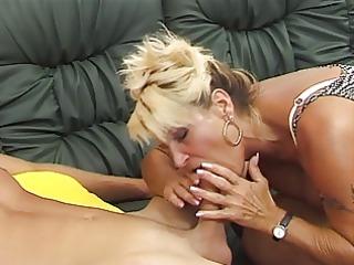 german unshaved older is lustful she is copulates