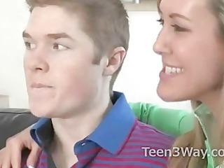 teen shames her boyfriend and goes lesbian st