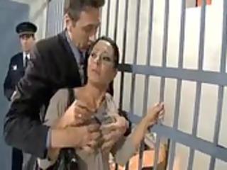 undercover officer fuck prisoner wife rite in