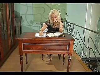 freaky babe talks her mature lady boss