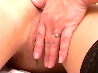 mature slag seduces juvenile gal