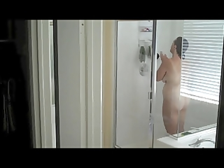 spying on a aged mom in the shower