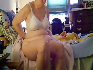 my breasty mummy dressinf after shower. hidden